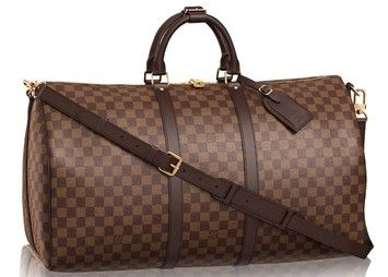 Louis Vuitton 55 Damier Ebene Carry On Luggage Travel Bag