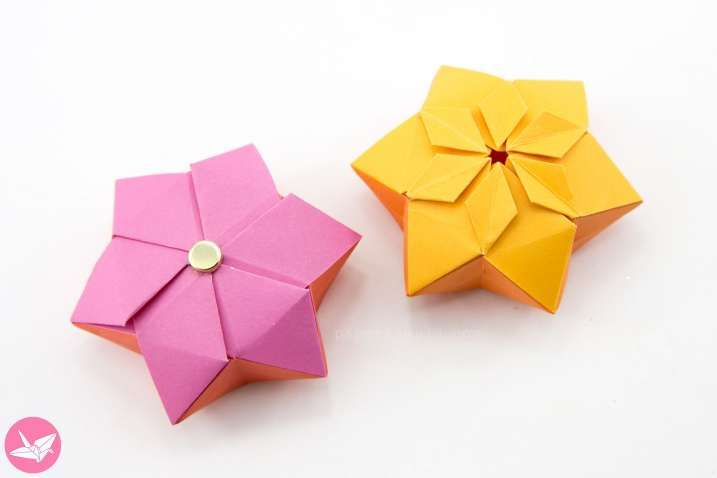 Awesome Flat Origami Flower Best Photos For World Origami