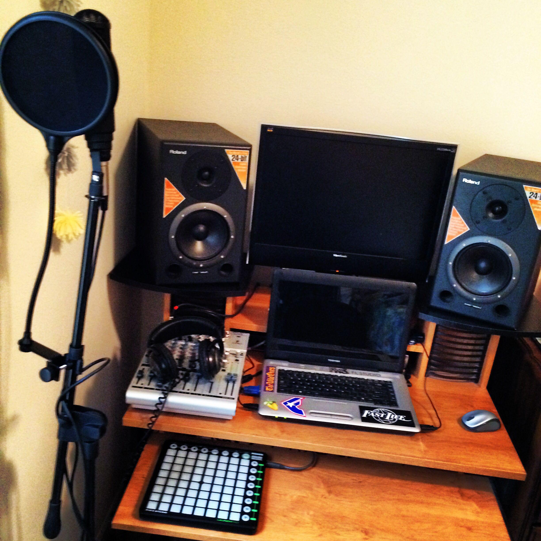 My Home Recording Studio Apartment Style Home Recording Studio Recording Studio Home Home Studio Music Bedroom home recording studio