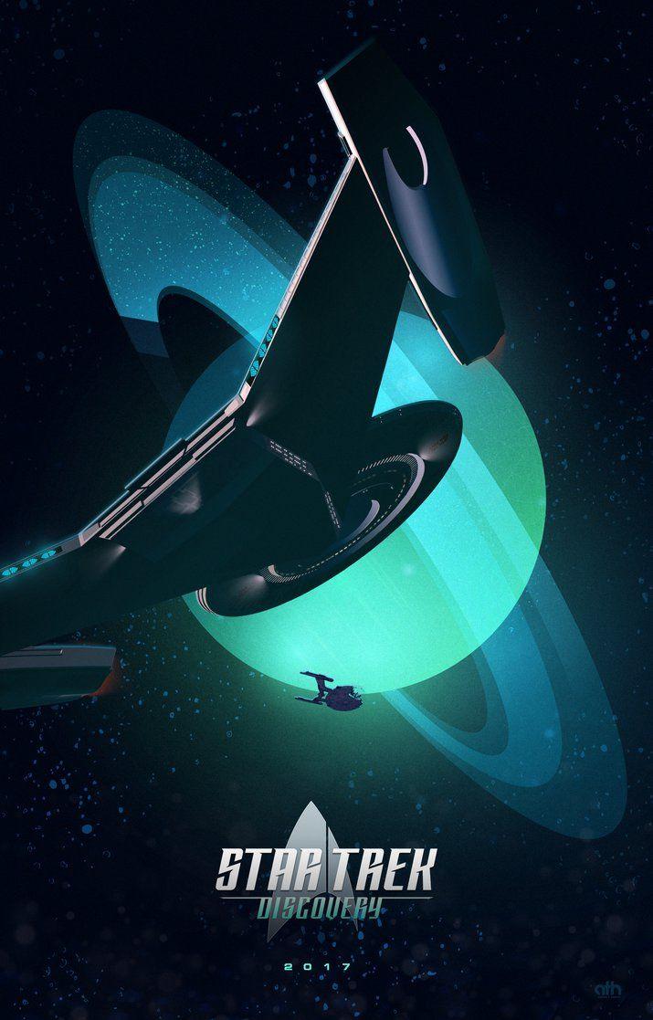 Uss Discovery Ncc 1031 By Geekfilter Star Trek Art Star Trek Tv Star Trek Starships