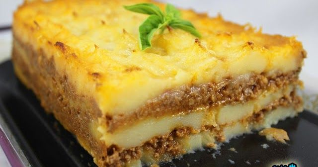 Plato Completo Y Con Ingredientes De Andar Por Casa Milhojas De Patata Y Carne Cocina Tradicional Pastel De Carne Picada Carne Thermomix Patatas