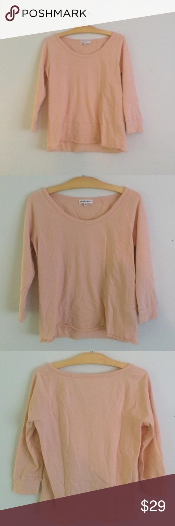 Aritzia light pink Community light sweater Very light pink, almost ...