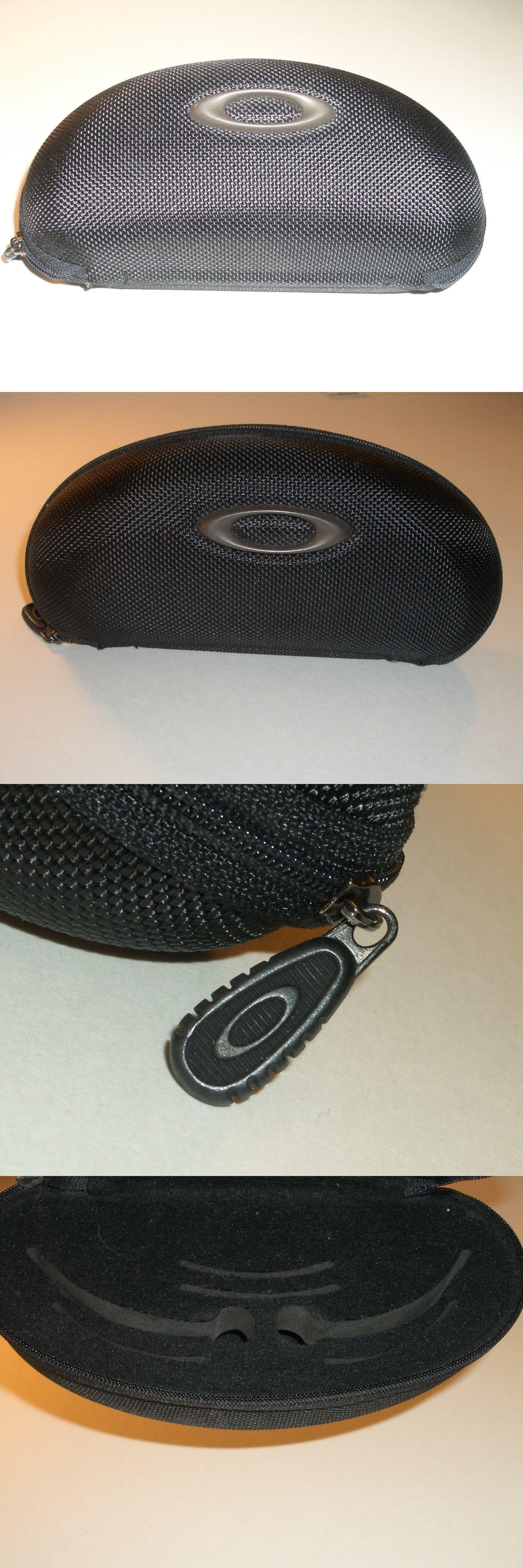 9cc350b832 Eyewear Accessories 179249  Brand New Original Oakley Black Color Zipped  Sunglasses Case Only New -
