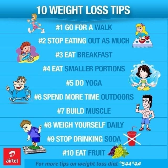 10 #Weight Loss Tips