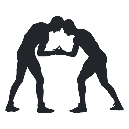 Wrestlers Fighting Silhouette Ad Ad Spon Silhouette Fighting Wrestlers Material Design Background Silhouette Png Silhouette