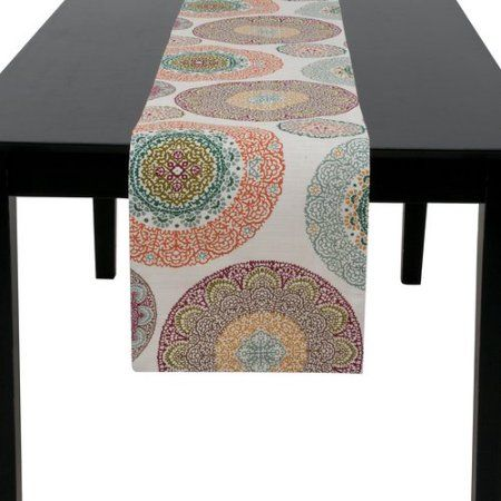 Better Homes and Gardens Lace Medallion Table Runner - Walmart.com