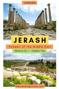 Visiting Jerash - The Pompeii of the Middle East #middleeast