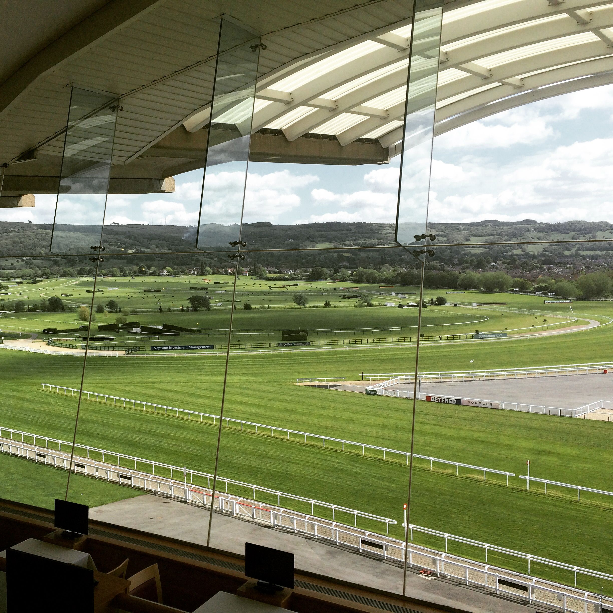 Cheltenham Racecourse is a great venue for exhibitions!