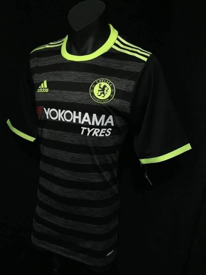 0481e11bac1 Chelsea Adidas Adizero Player Away Football Shirt Neme JSY 2016 2017 Soccer  Men  Adidas