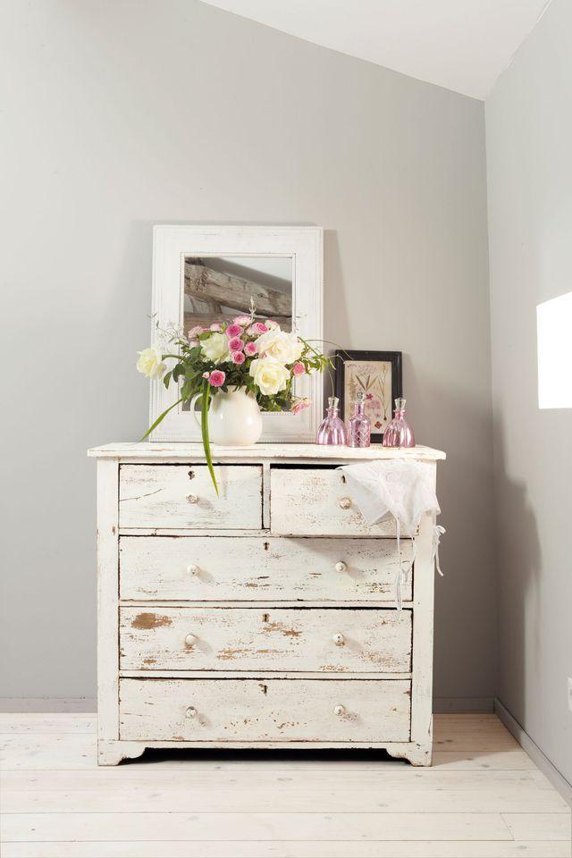 Patiner un meuble en bois en couleur Bedrooms, Shabby and Annie sloan - meuble en bois repeint