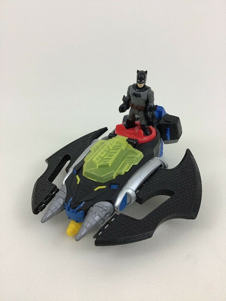 Fisher-Price Imaginext DC Super Friends Bat Boat And Batwing With Batman Figures
