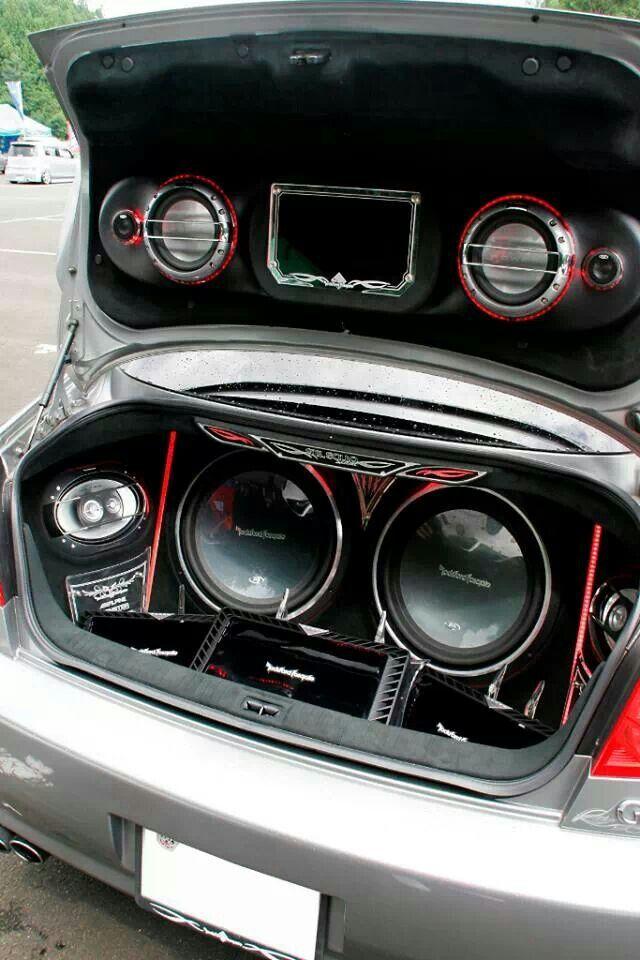 Rockford Fosgate Audio | Car Stereos | Custom car audio, Car