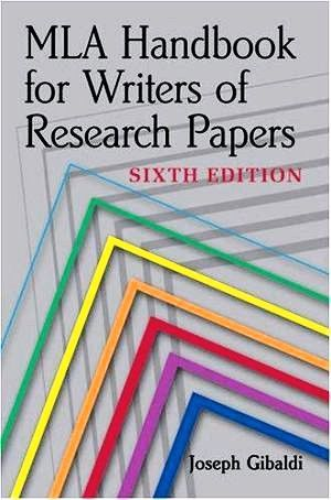Mla Handbook For Writers Of Research Papers By Joseph Gibaldi 6th Edition 2006 Paperback Mla Handbook Research Paper Writing