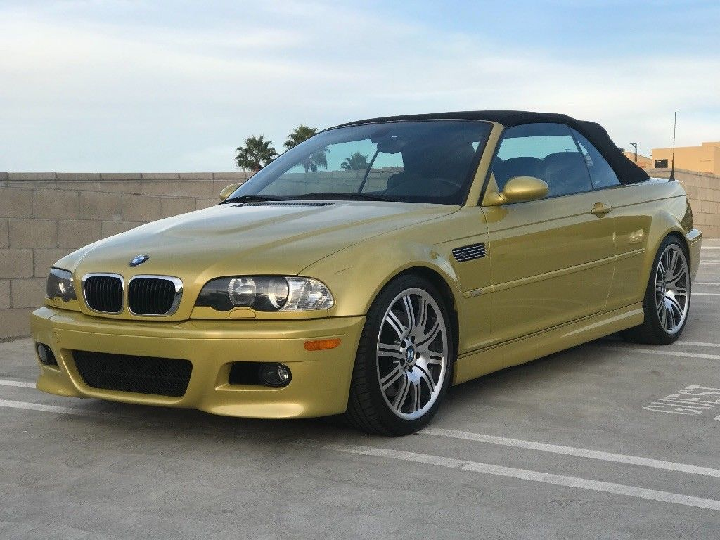 Awesome Amazing 2001 BMW M3 Base Convertible 2-Door 2001 phoniex ...