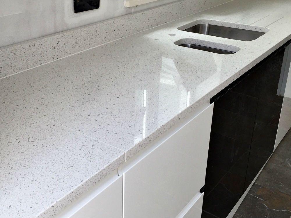 Caesarstone Nougat Laundry Quartz Kitchen Countertops