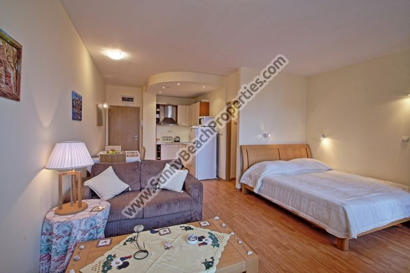 Park view furnished studio for sale in 5***** Garden of