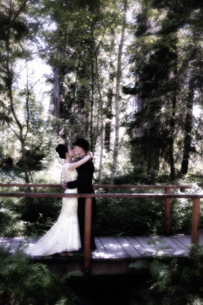 Glacier National Park Wedding Real bride - Photo by www.nateschmidtphotography.com/  edited by www.celebratingbliss.com/