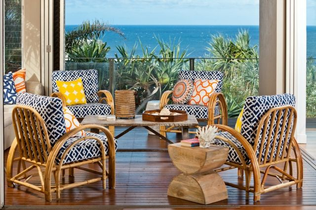 Terrassen » Möbel für Balkon – 52 Einrichtung- und Deko Ideen für ...