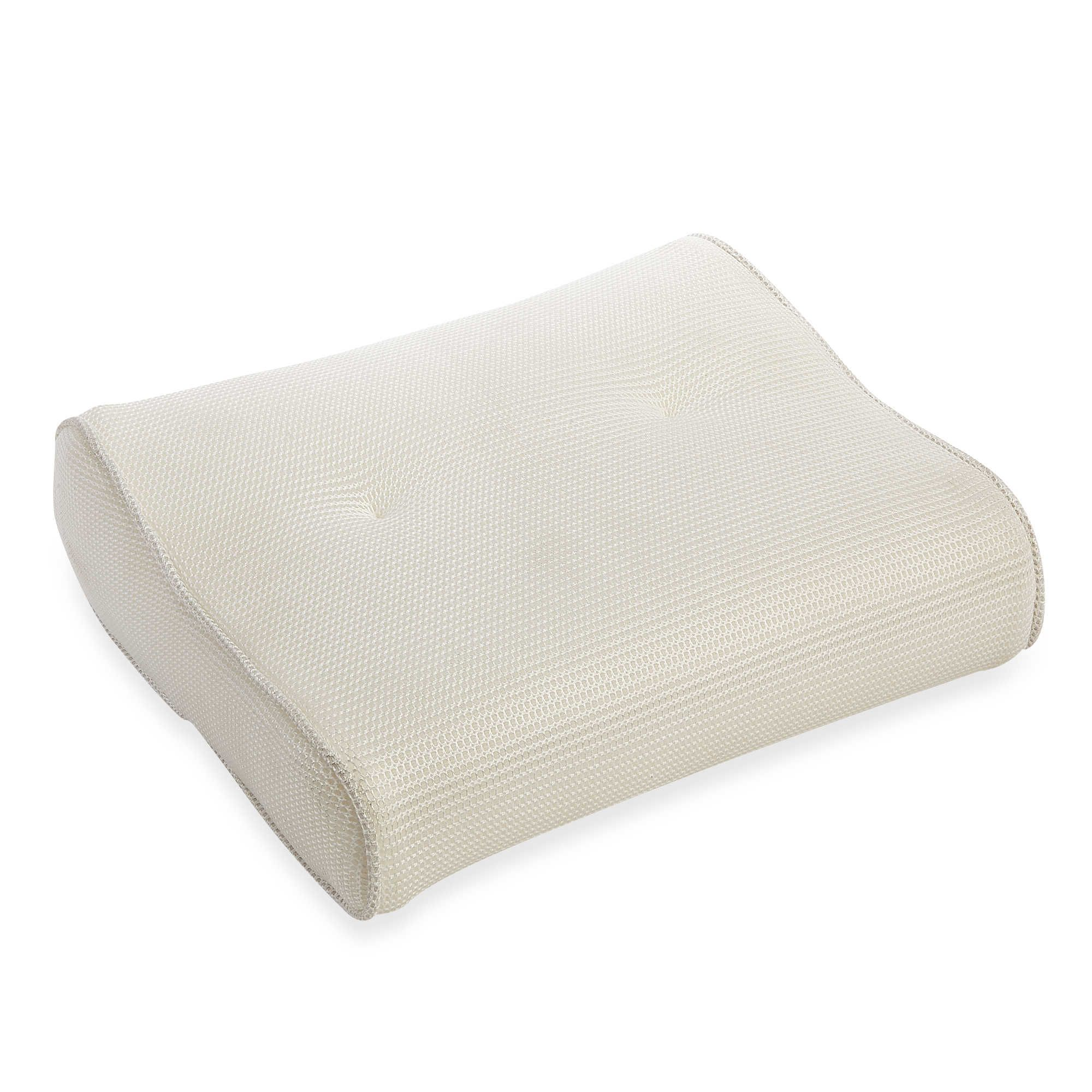 Airia Luxury Quick Dry Curved Spa Bath Pillow | bathroom ideas ...