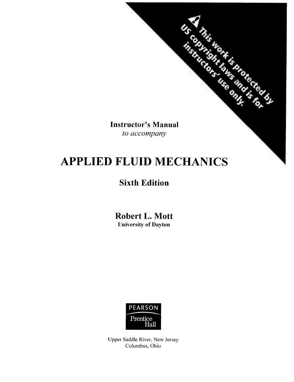 Solucionario mecanica de fluidos r. mott by jonathan via slideshare ...