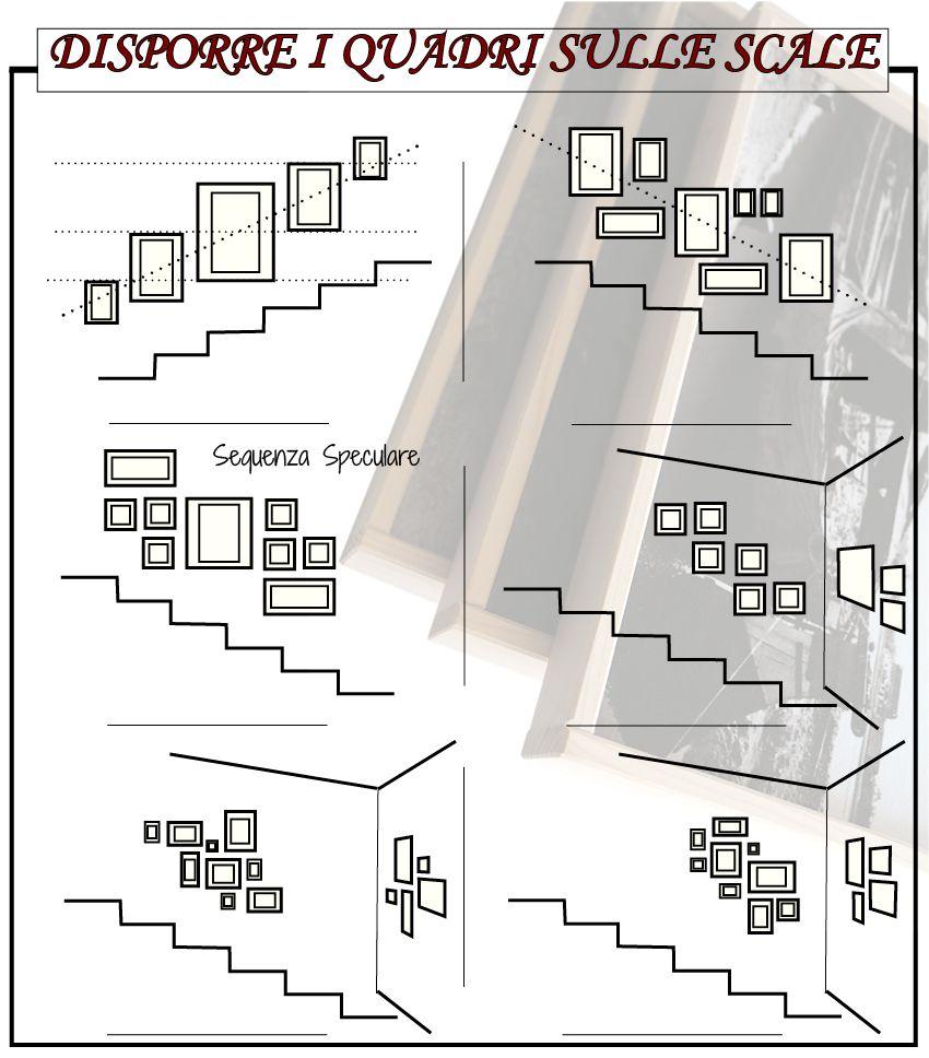 Appendere Quadri Su Scale 6 modi per disporre i quadri sulle scale - arredoverticale