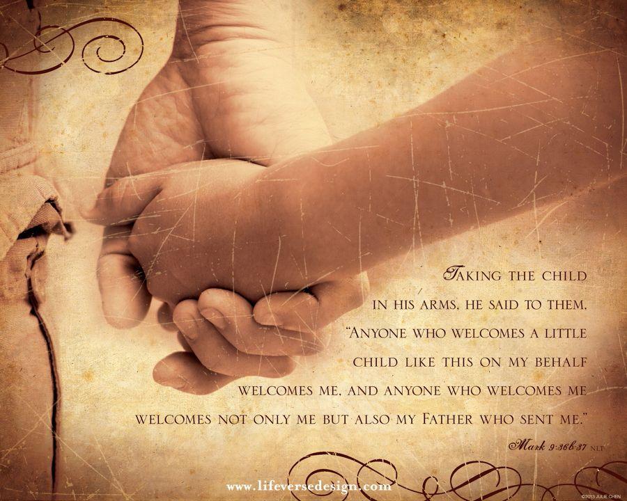 Scripture Art - Bible Verse Art - Christian Gift - Adpotion Gift ...