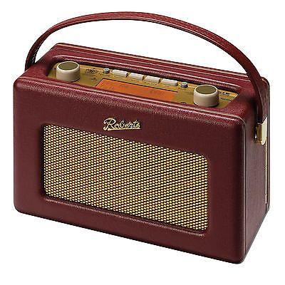Burgundy Rd60 New 50's Revival Roberts FmdabdabPortable Radio 6Y7bgyf