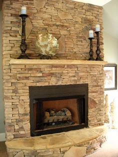 Stone fireplace designs and Fireplace de…