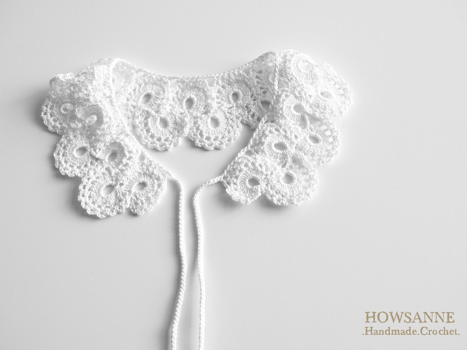 Crochet Vintage Collar | 뜨개질 | Pinterest | Customiza tu ropa ...