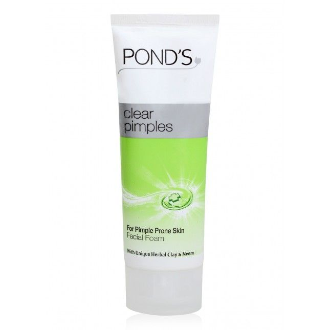 Pond S Pimple Clear Facial Foam Personal Hygiene Personal Care Grocery Face Wash How To Clear Pimples Pimples
