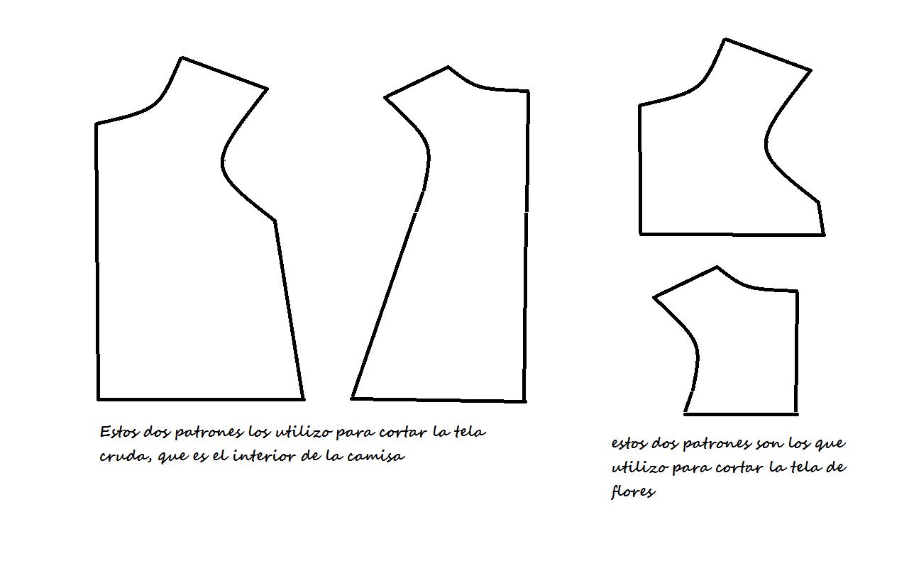 ENTRECOSTURILLAS: hacer blusa niña y bebé paso a paso. Make shirts ...