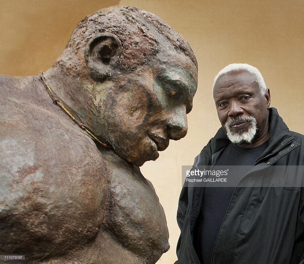 Senegalese sculptor Ousmane Sow
