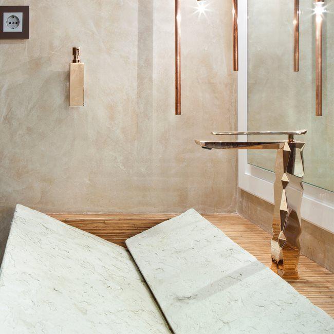 MaestroBath Luxurious Ikon Polished Gold Bathroom Faucet | Luxury Bathroom  Faucets | Pinterest | Gold Bathroom, House And Bath