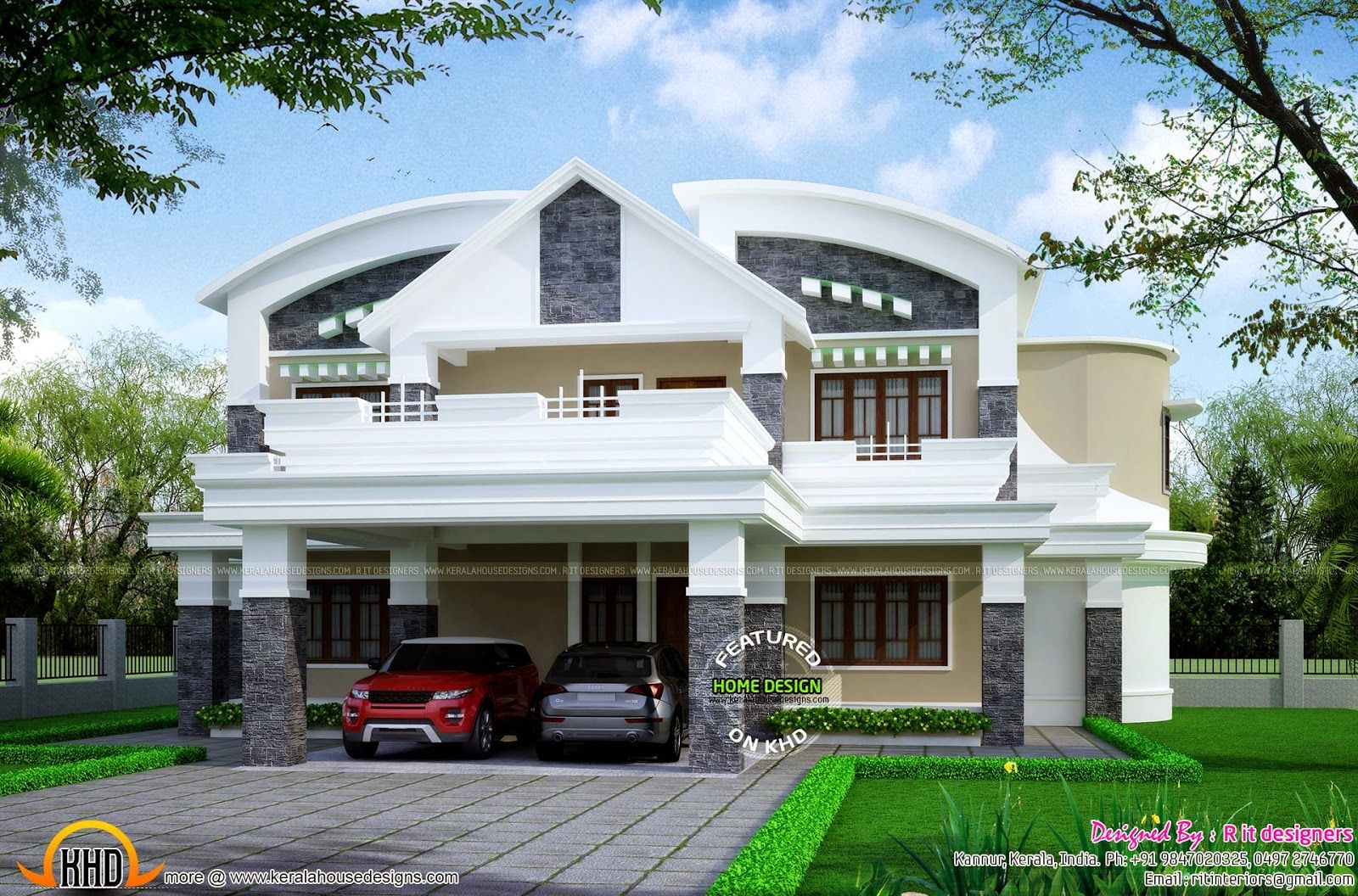 Icymi Indian Simple House Design Kerala House Design Simple House Design House Roof Design