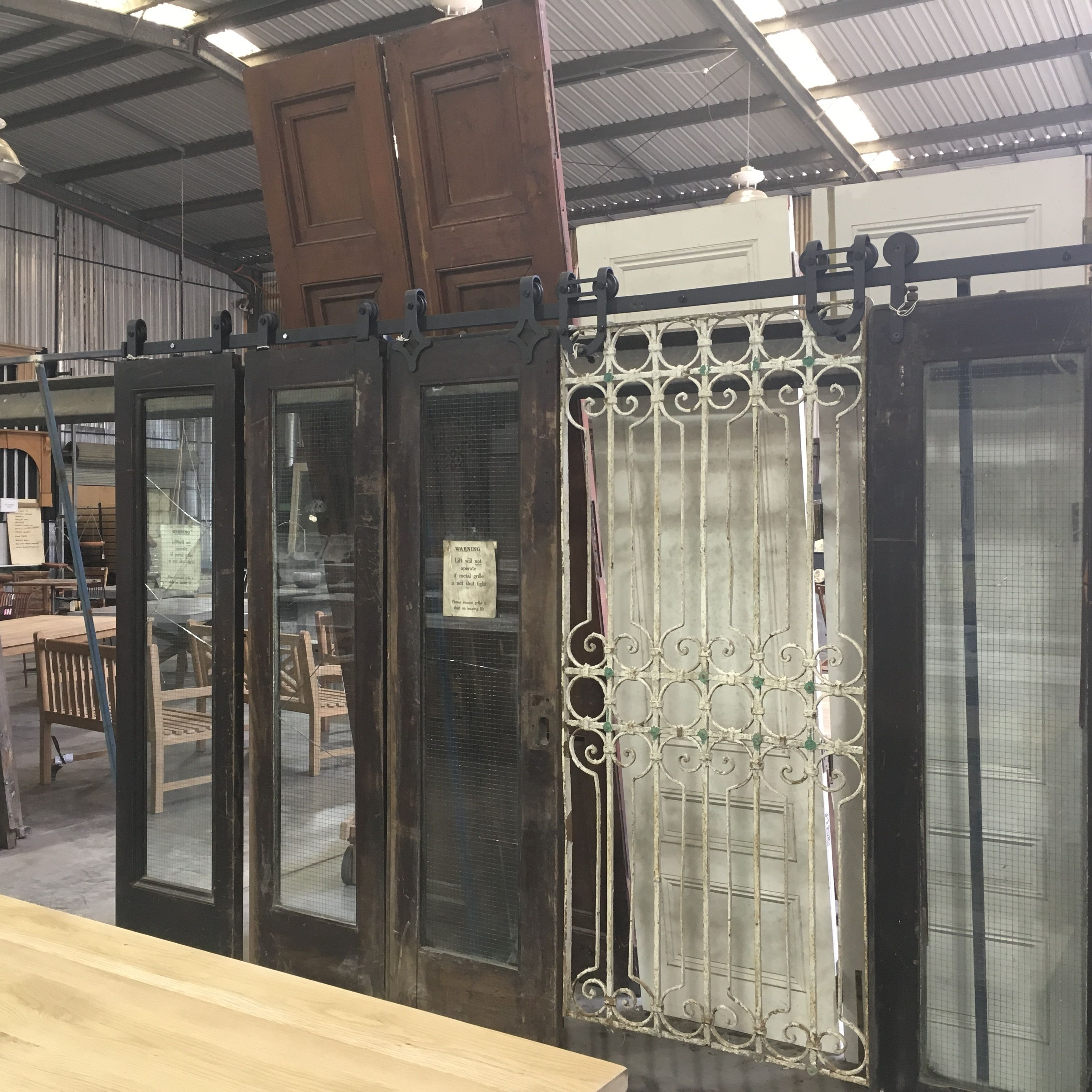 Door gate & Lift doors gates reclaimed doors can all be used with our range of ...
