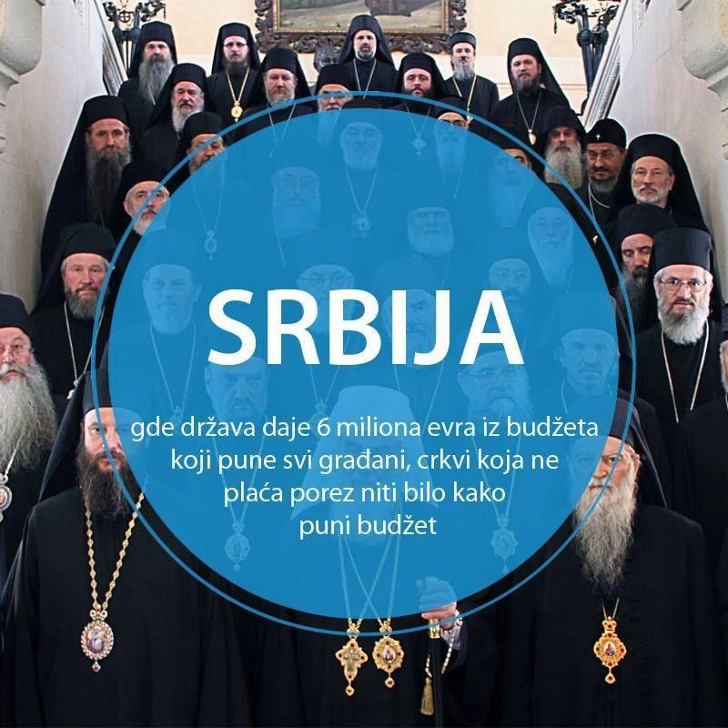 Član 11. Ustava kaže: Republika Srbija je svetovna zemlja. Crkve i verske zajednice su odvojene od države.