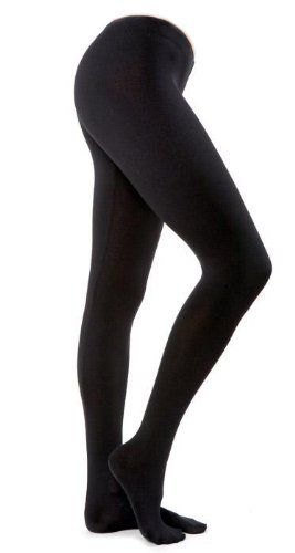 6f41304710723 Ladies Fleece Lined Leggings Assorted Colors-1 Pair-queen Size (black) by