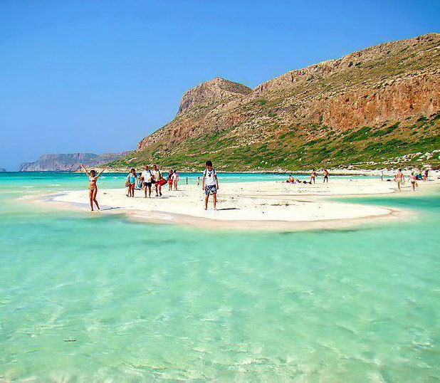 4 Beautiful Beaches On Crete Greece Crete Pinterest
