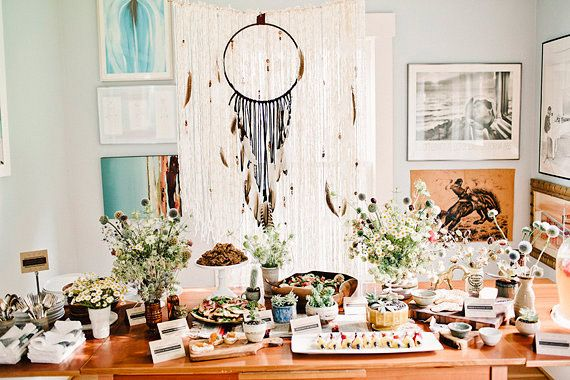 Bohemian Baby Showers On Pinterest Backyard Baby Showers