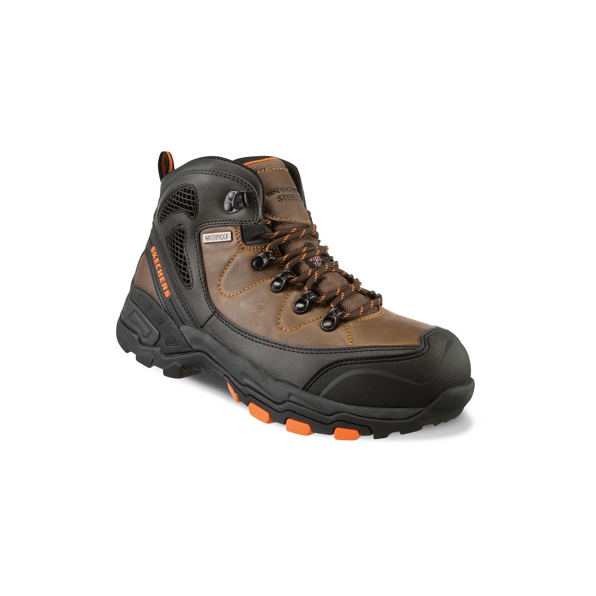 9ec157c7c7f Skechers Relaxed Fit Surren Men's Waterproof Steel-Toe Boots | Products