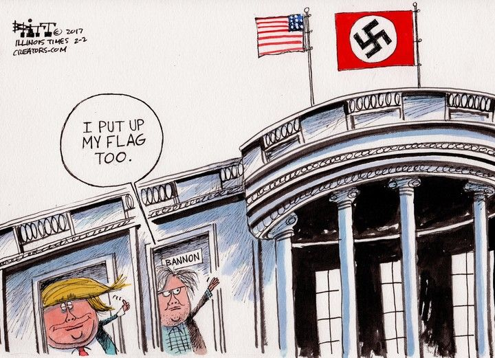 """Résultat de recherche d'images pour """"USA, FBI, Comey, Trump, richard nixon, caricatures, 2017"""""""