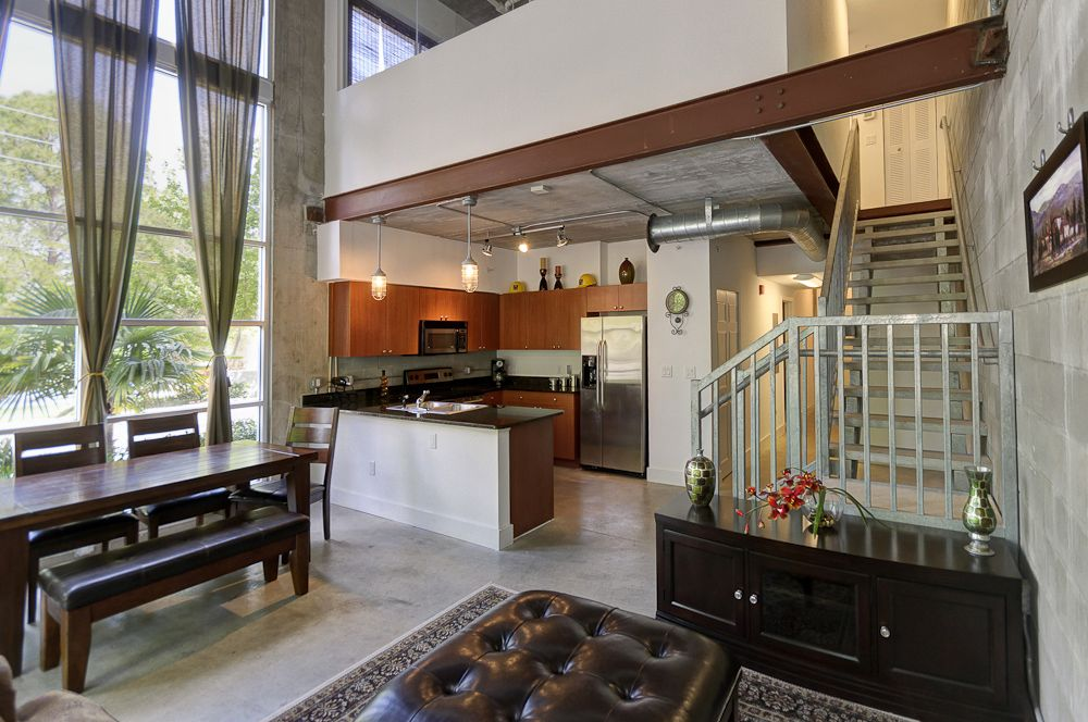 Modern Design Inside The Loft S Oasis In Gainesville Florida For Sale Or Lease Home Modern Design Loft