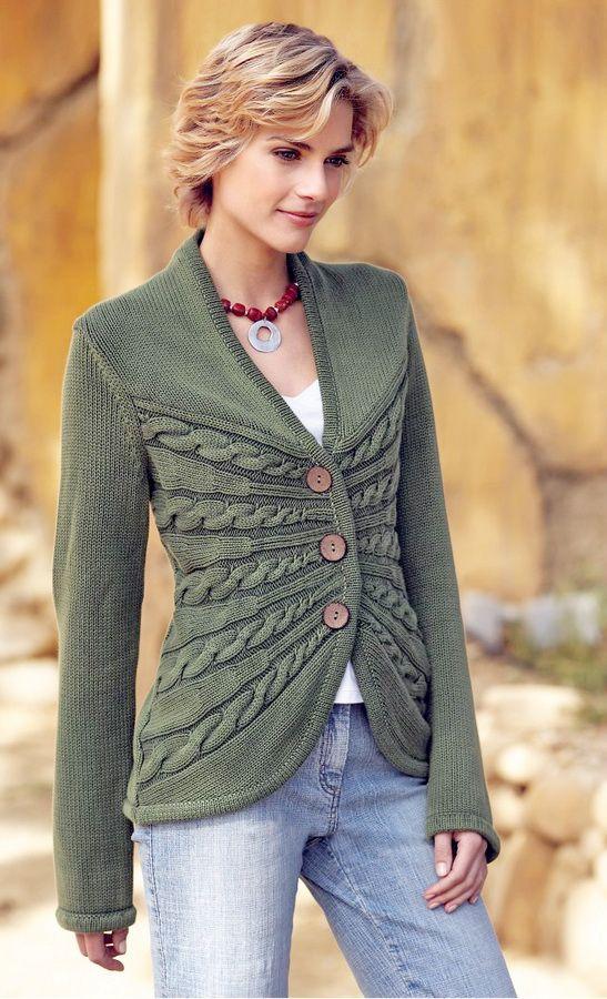 Sunburst Cable Cardigan Pattern By Erica Patberg Knitting Patterns