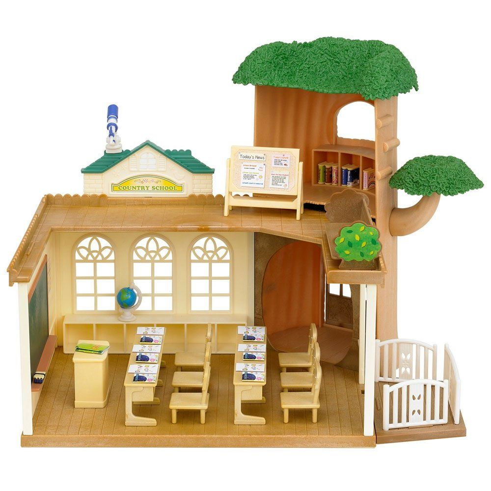Toy Game Store In Lone Tree: Sylvanian Families School: Amazon.co.uk: Toys & Games