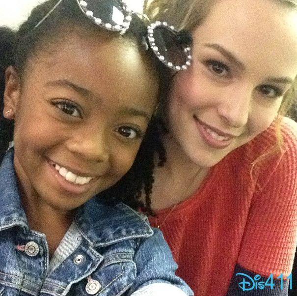 Pretty Pic Of Skai Jackson And Bridgit Mendler September 13, 2013