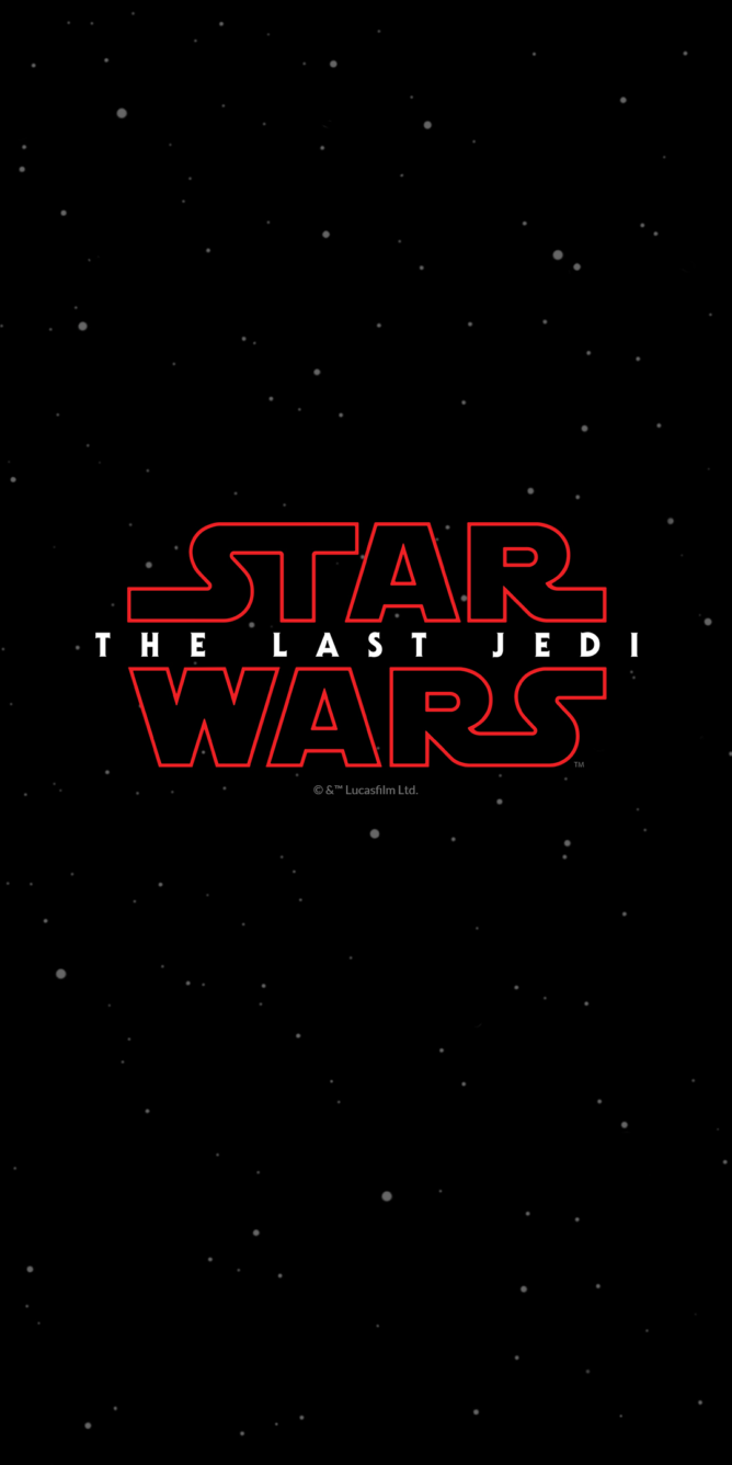 Get all the Star Wars: The Last Jedi wallpapers from the special edition OnePlus 5T [Download]