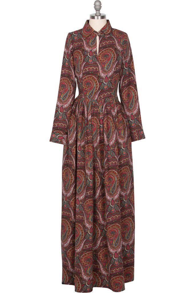 Dahlia Maxi Dress - Paisley