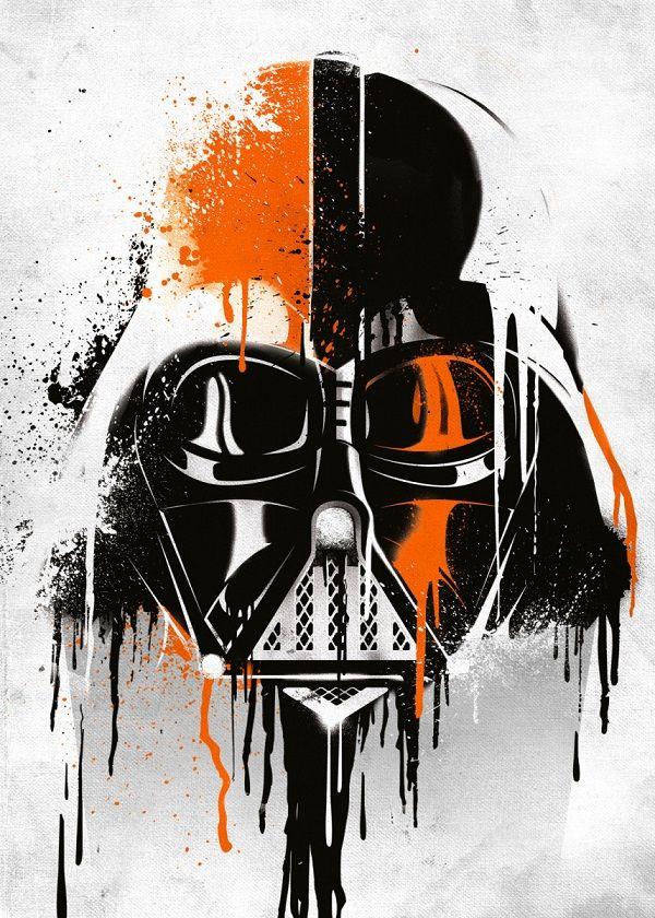 Star Wars Darth Vader Helmets Displate Posters