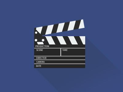 Movie Clapper Icon Film Countdown Film Logo Icon