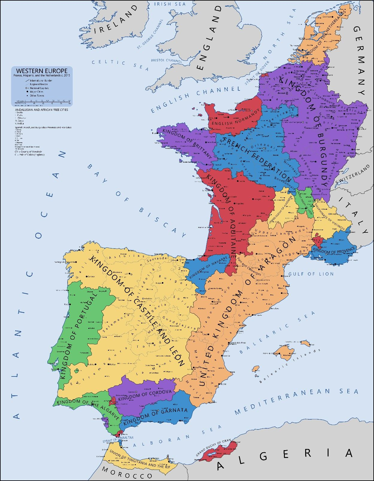 Spain Map Of Europe.Western Europe Long Time Ago Maps Spain History Historical Maps
